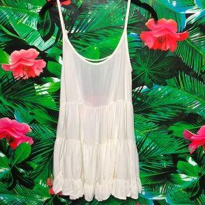 EUC Brandy Melville Cream Colored Mini Dress